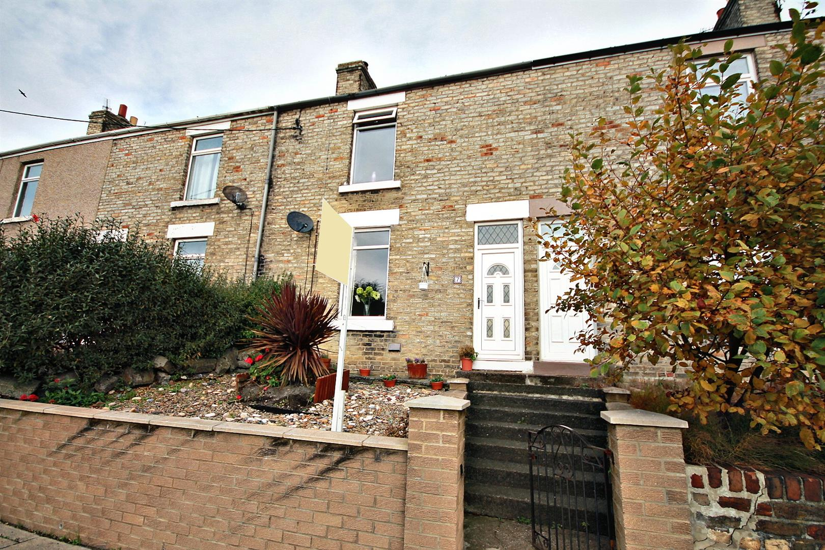 2 Bedrooms Terraced House for sale in South View, Ushaw Moor, Durham